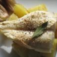Panga al horno es una receta sencilla, económica y original, ideal para una cena ligera. Esta receta es a base de panga, patatas, chalote (cebollas francesas), laurel y orégano. […]